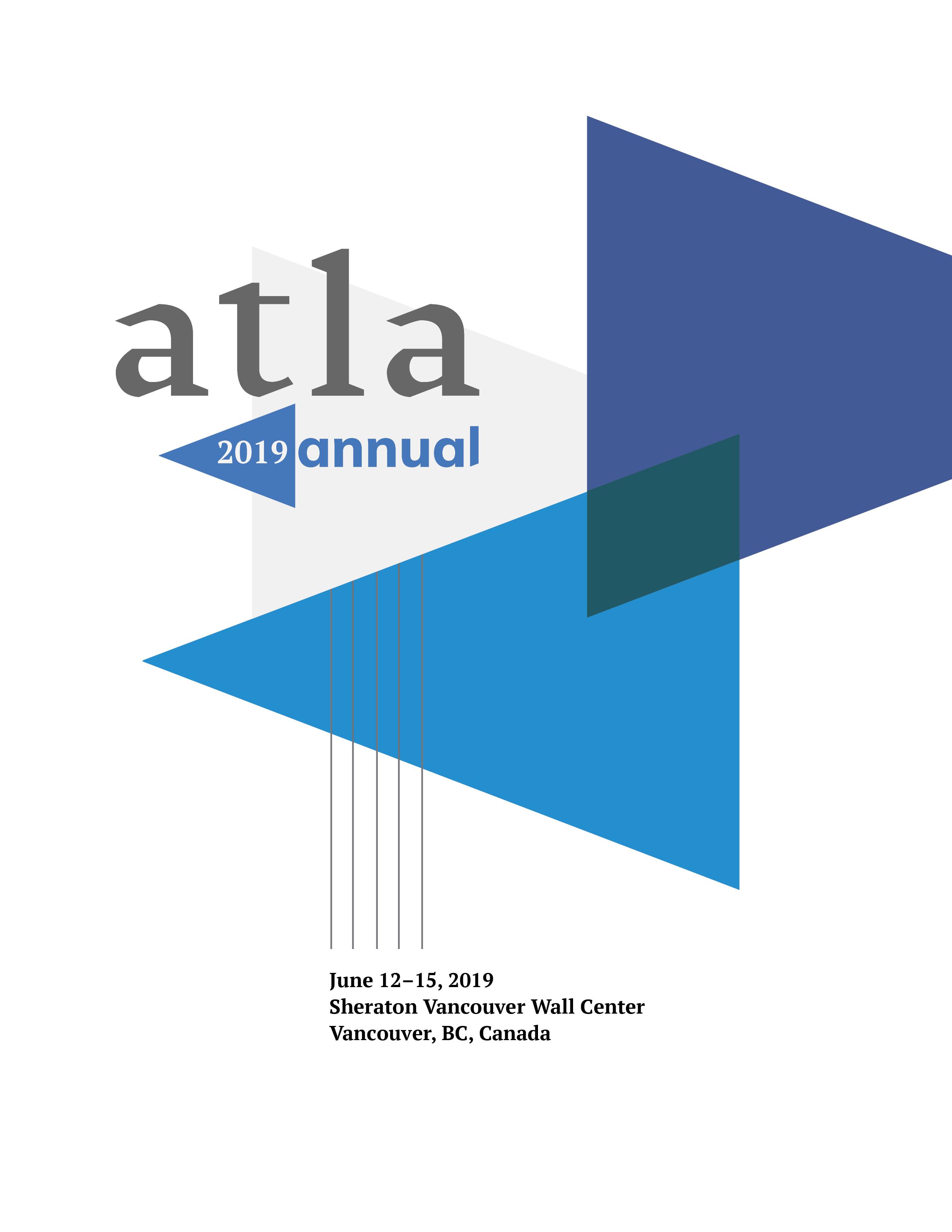 Atla Annual 2019